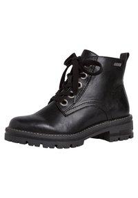 Jana - STIEFELETTE - Platform ankle boots - black - 3