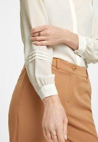 comma - Button-down blouse - white - 4