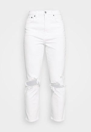 DEST CURVE LOVE STRAIGHT - Džíny Slim Fit - white dest