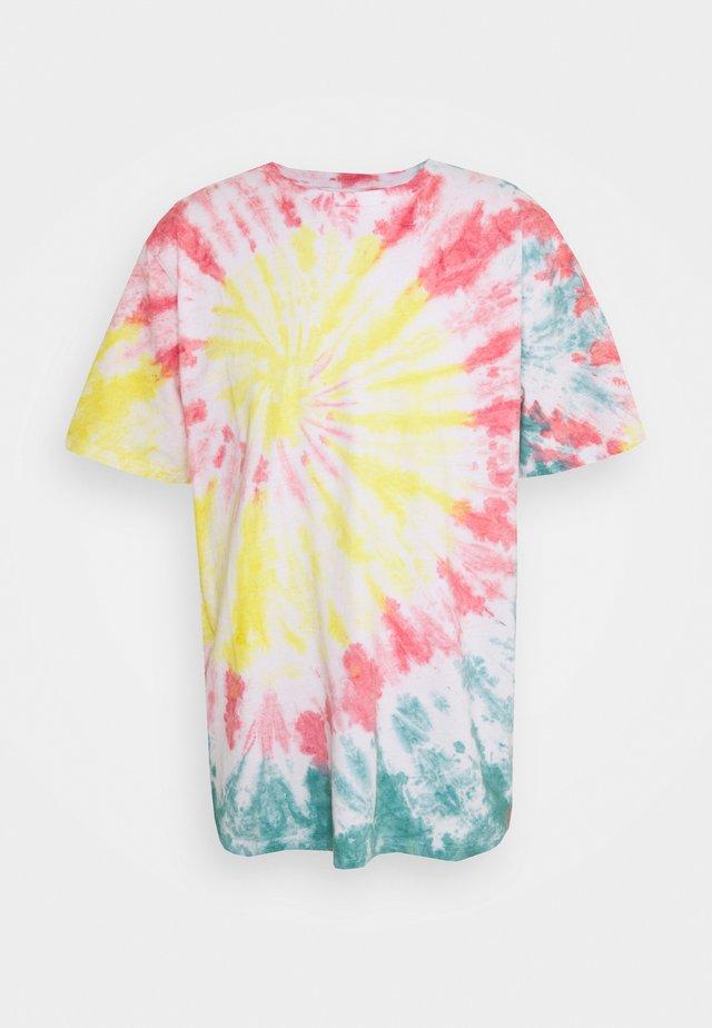 SPIRAL TIE DYE UNISEX  - Print T-shirt - multi