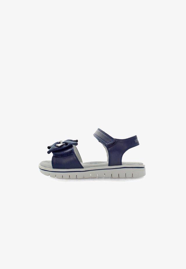 LARA - Sandaalit nilkkaremmillä - navy blue