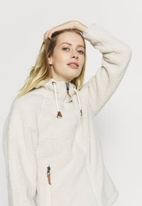 Icepeak - VIAREGGIO - Fleece jacket - natural white - 3