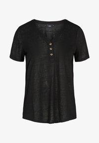 Zizzi - Basic T-shirt - black - 4