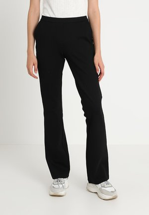 TANNY FLARE PANTS - Trousers - black