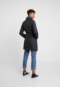 Tommy Jeans - ESSENTIAL HOODED COAT - Piumino - black - 4