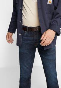 Tommy Hilfiger - LAYTON PEBBLE - Belt - brown - 1
