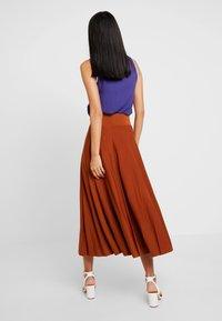 Anna Field - A-line skirt - caramel cafe - 2