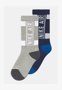 Nike Sportswear - AIR CREW 2 PACK UNISEX - Socks - midnight navy - 0