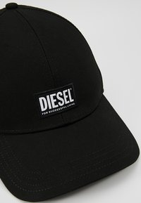 Diesel - CORRY HAT UNISEX - Lippalakki - black - 6