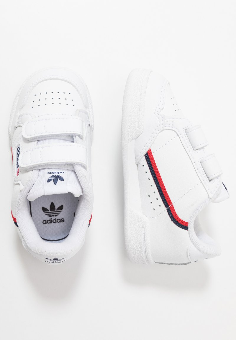 adidas Originals - CONTINENTAL 80  - Zapatillas -  footwear white/scarlet