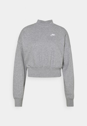 MOCK - Sweatshirt - grey heather/white
