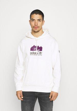 LOGO HOODIE - Sweatshirt - cloud white