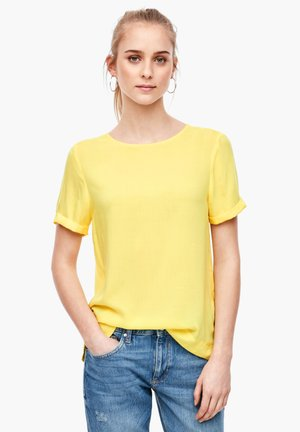 KURZARM - Blouse - yellow