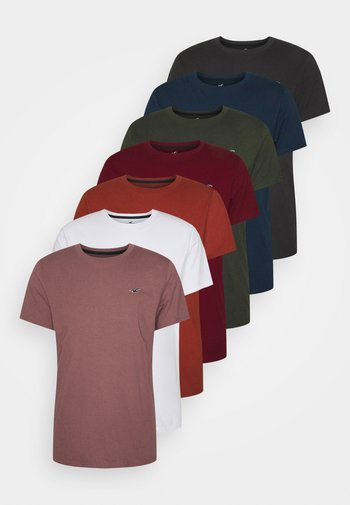 MULTI CORE ALL WEEK 7 PACK - T-shirt - bas - multi-coloured