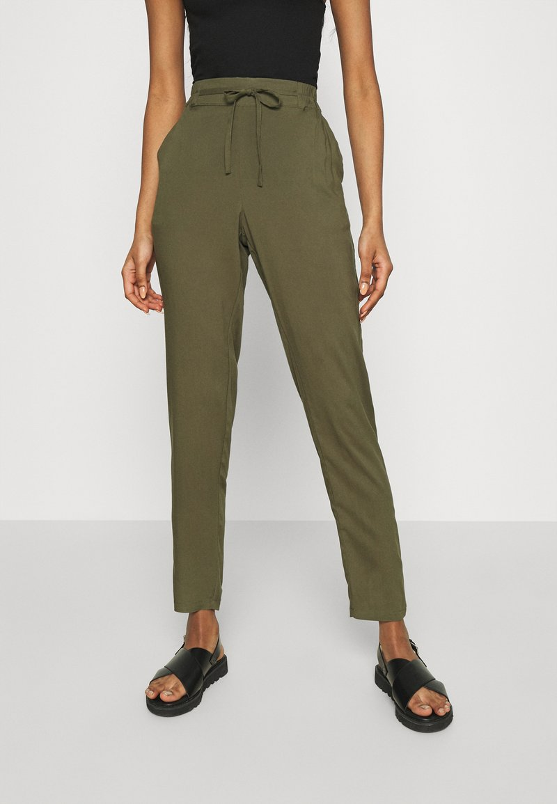 Vero Moda - Trousers - ivy green