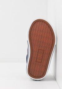 Polo Ralph Lauren - EVANSTON - Sneakers laag - navy/red - 5