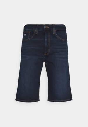REY RELAXED - Jeansshort - dark-blue denim