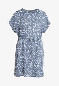 Vila - Day dress - colony blue - 5