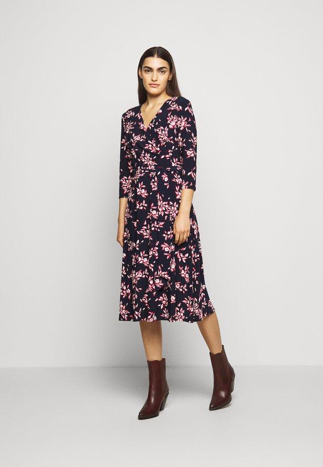 MATTE DRESS - Day dress - navy/orient