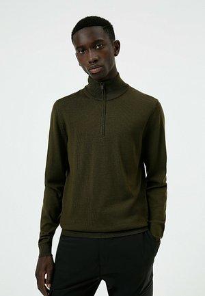 SAN GOTTARDO  - Sweatshirt - dark green