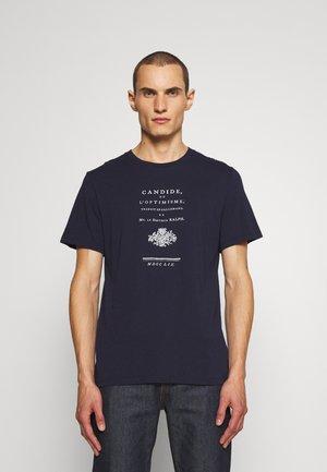TOMMY ZADIG - Print T-shirt - encre