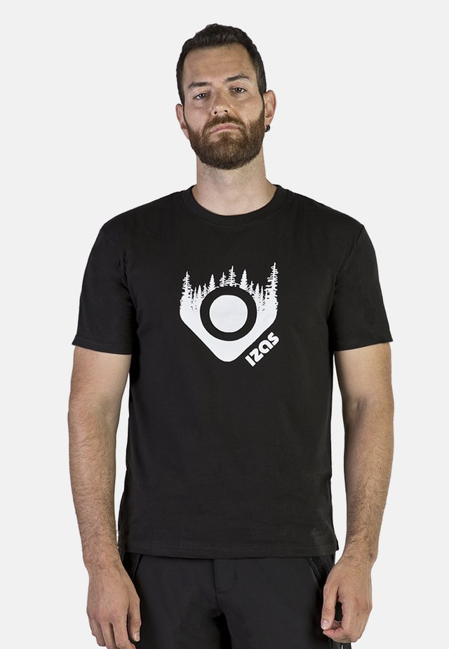 AVERY - Print T-shirt - black
