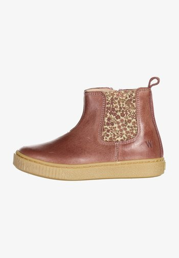 INDY  - Baby shoes - wood rose