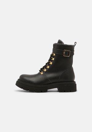 NEREA VEGAN - Winter boots - black