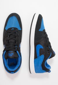 Nike SB - ALLEYOOP UNISEX - Skate shoes - black/royal blue - 3