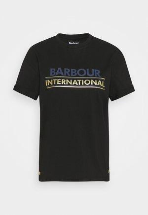 SITKA TEE - Print T-shirt - black