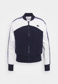 Lacoste Sport - TENNIS - Training jacket - weiß/navy blau - 4