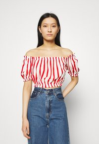 LTB - LOZIWE - Blouse - white/red - 0