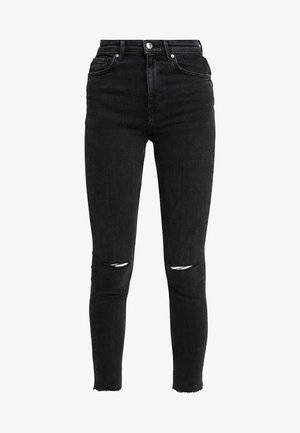 ZOEY HIGHWAIST - Jeans Skinny - black/grey
