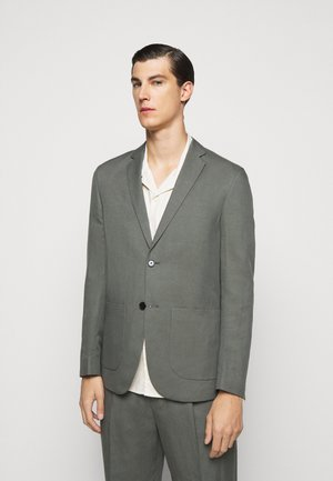 RICK - Blazer - green/grey