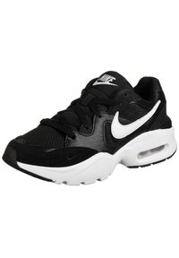Nike Sportswear - AIR MAX FUSION - Trainers - black / white - 2