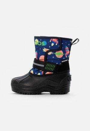 SHELL - Zimní obuv - dark navy/space