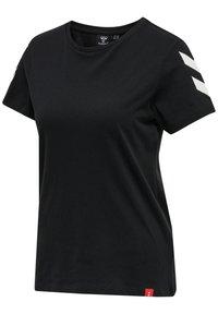 Hummel - 2 PACK - Print T-shirt - black/white - 3