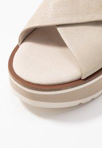 Carmela - Platform sandals - ice - 2