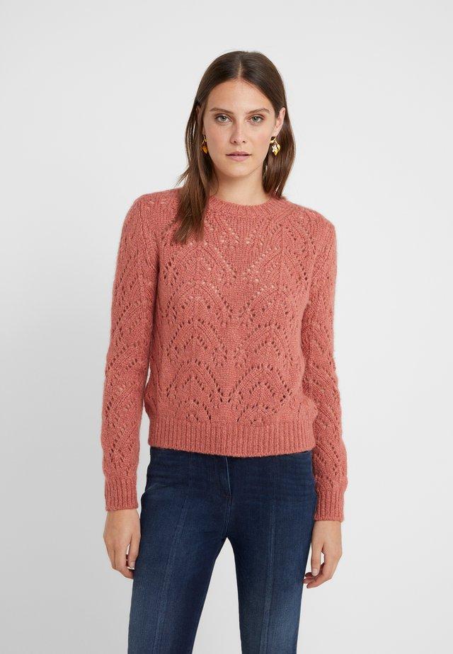 MALVINA - Pullover - bois de rose