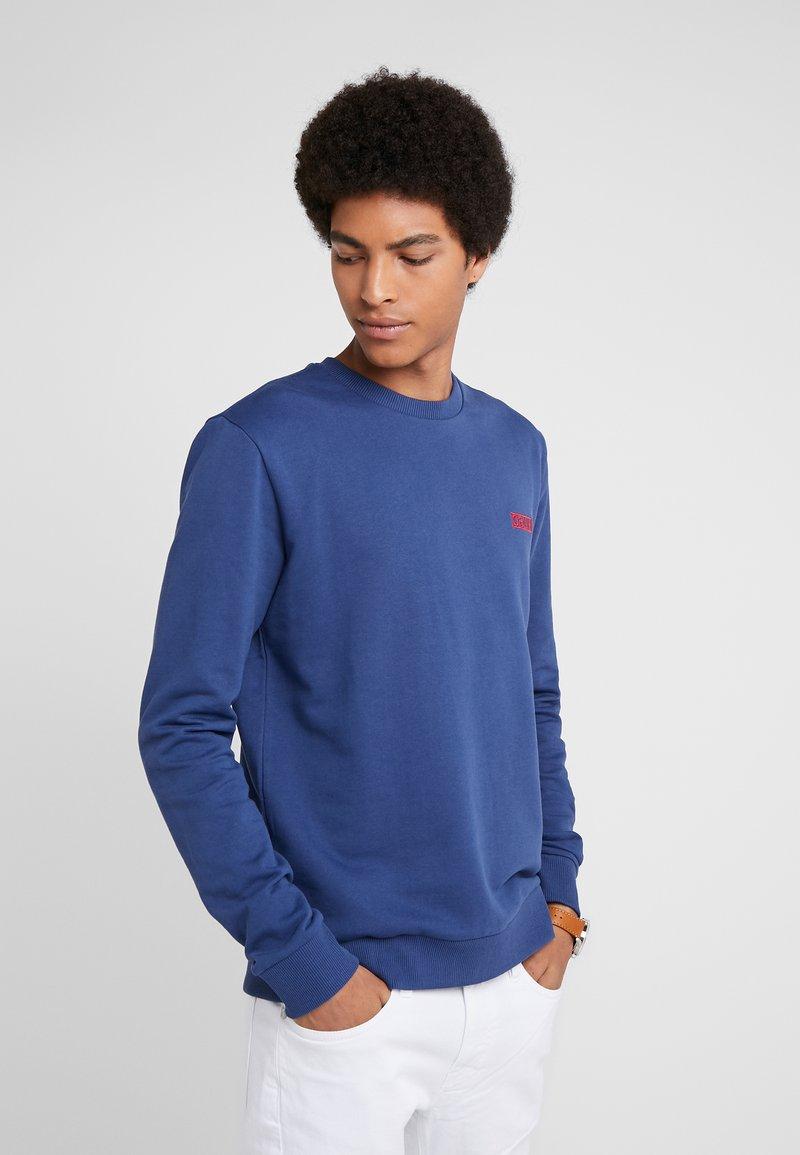 HUGO - DRICK - Sweatshirts - medium blue