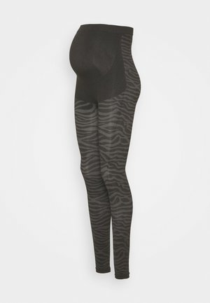 LEGGING SEAMLESS ANIMAL - Leggings - Trousers - black