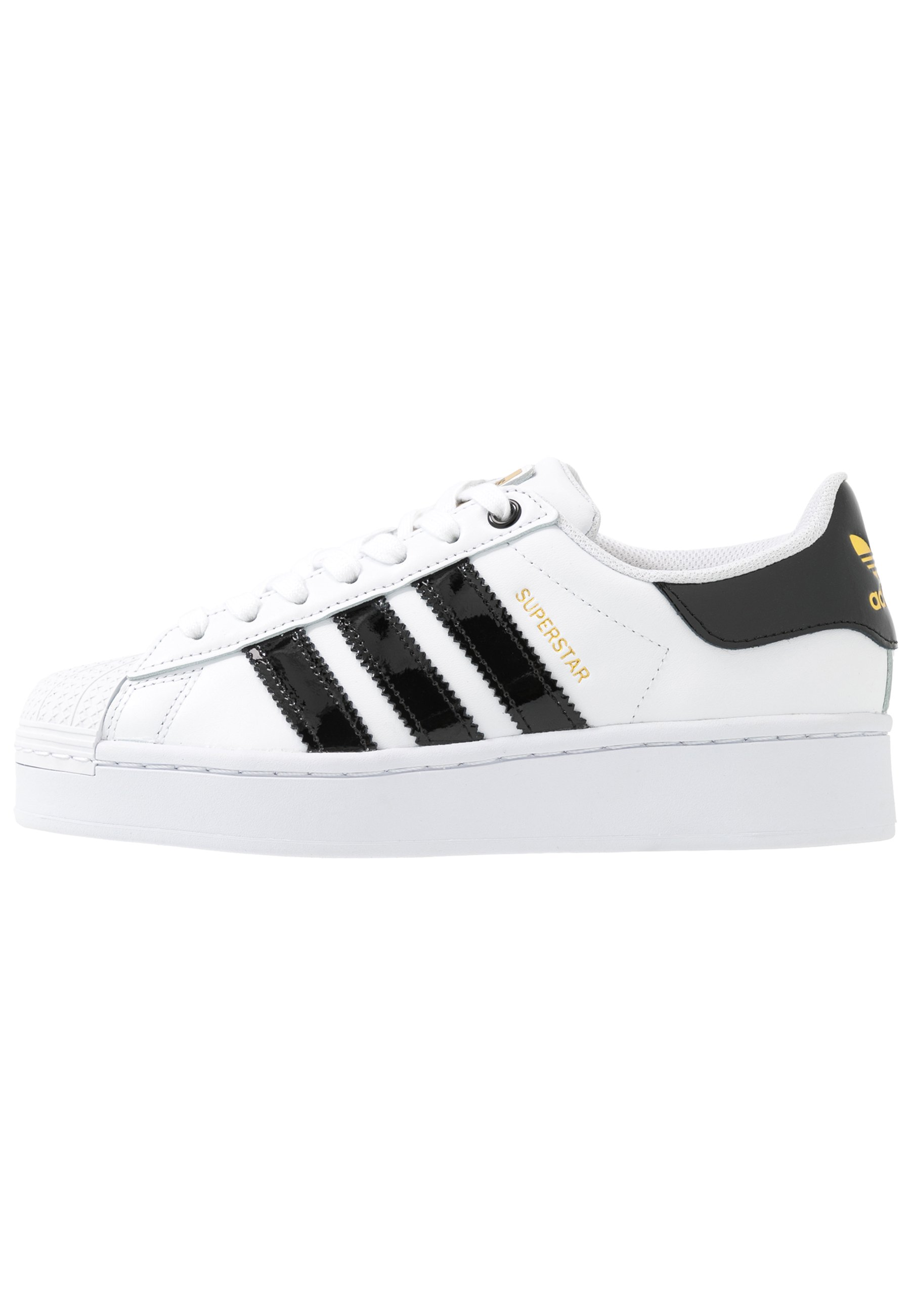 SUPERSTAR BOLD - Sneakers laag - footwear white/clear black/gold metallic