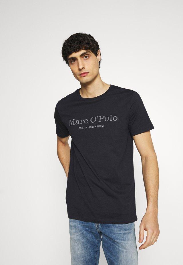 SHORT SLEEVE - T-shirt print - dark blue