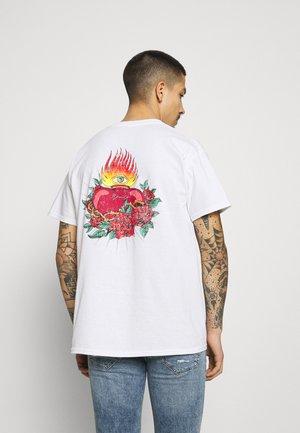 HAVANA TATTOO HEART - Print T-shirt - white