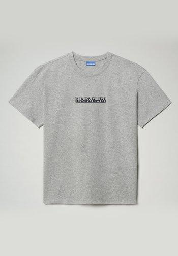S-BOX  - T-shirts print - medium grey melange