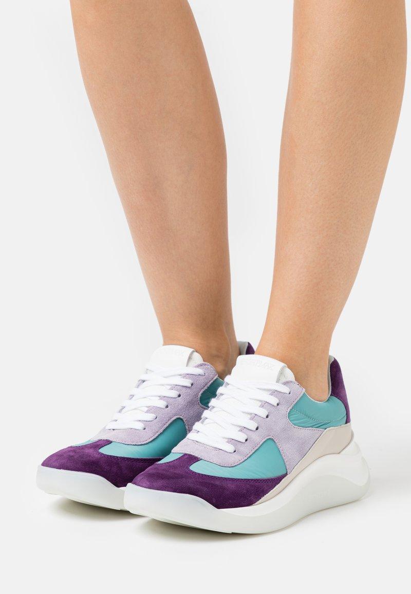 Sportmax - CUPIDO - Sneakers laag - verde acqua
