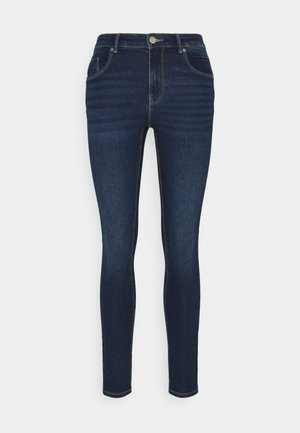 ONLDAISY LIFE PUSH UP - Jeans Skinny Fit - dark blue denim