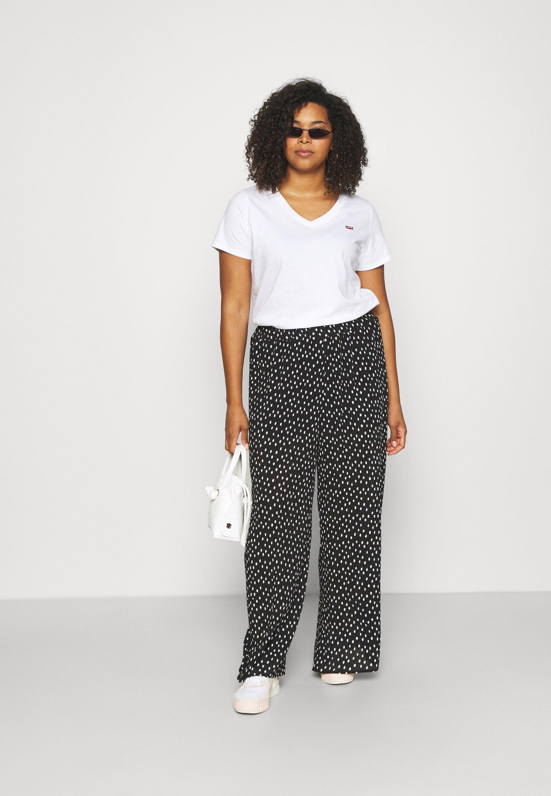 Donna V NECK TEE - T-shirt basic