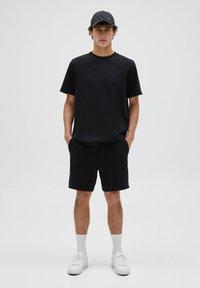 PULL&BEAR - 3 PACK - T-shirt - bas - white - 3