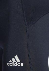 adidas Performance - TECHFIT SHORT TIGHTS - Leggings - blue - 5